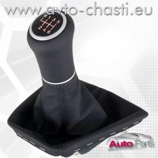Топка за скоростен лост с кожен маншон и лайстна за BMW 3 Е30