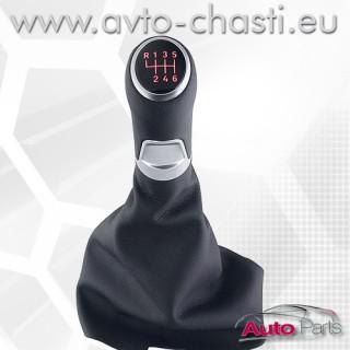 Топка за скоростен лост с кожен маншон за Seat Altea 5P