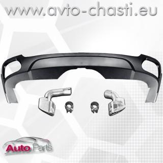 Дифузьор на задна броня и накрайници за BMW X5 F15