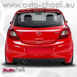 Дифузьор за задната броня за Opel Corsa D