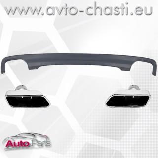 Дифузьор и накрайници тип V8 за ауспуха на BMW 5 F10/F11