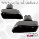 Накрайници за ауспуха на BMW 5 F10/F11 /Черни/