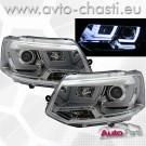 Фарове за VW T5 /3D LIGHT BAR-хром/