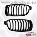 Решетки за BMW 3 F30/F31  /Piano Black + Matte/