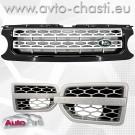 Решетки за Land Rover Discovery 4 /Black & Silver/