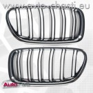 Решетки за BMW 5 F10/F11 Facelift /Double Stripe Chrome-Black/