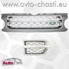 Решетки за Land Rover Discovery /сребърни/