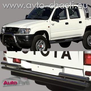 Заден ролбар за Toyota Hilux Double Cab 2.5 TD