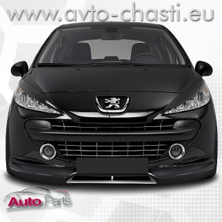 Преден спойлер за Peugeot 207