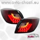 Стопове за OPEL ASTRA H GTC /Червено-опушено/