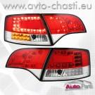 Стопове за AUDI A4 B7 AVANT /Червено-бяло//