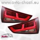 Стопове за AUDI A1 /червено-опушени/