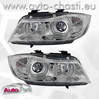 U-BAR DESIGN HEAD LIGHTS BMW E90/E91