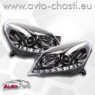 Фарове с дневни светлини за OPEL ASTRA H /хром/