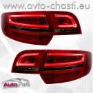 Стопове за AUDI A3 SPORTBACK /Facelift червено-опушено/