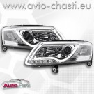 Фарове за AUDI A6 4F /Light Bar - хром/