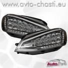 Фарове за VW GOLF 7 /LED Черни/