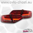СТОПОВЕ ЗА AUDI A4 B8 /червено/кристал/